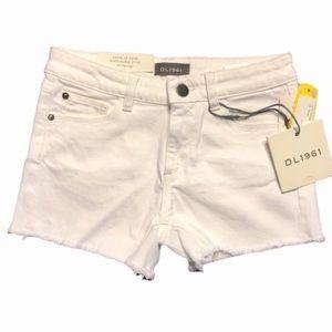 DL1961 Emily Frayed Hem Shorts